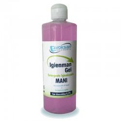 gel igienizzante idroalcolico 500ml con Aloe